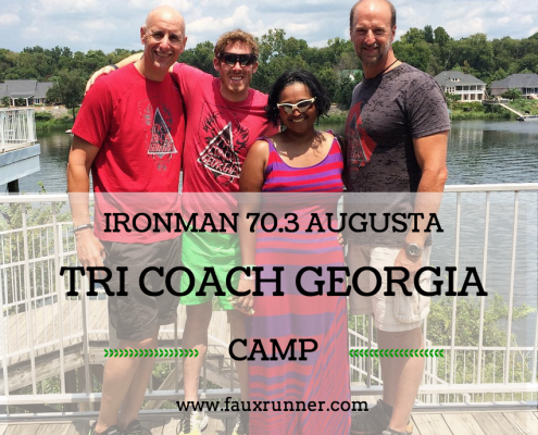 FauxRunner's report on TriCoachGeorgia Ironman 70.3 Augusta Training Camp 01